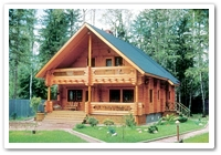 200 Log house Exterior 002dd