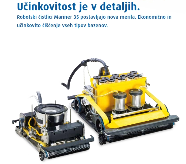 VISOKA UČINKOVITOST The right solution for every swimming pool WEB A4 format 002